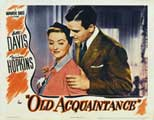 Old Acquaintance - 11 x 14 Movie Poster - Style B