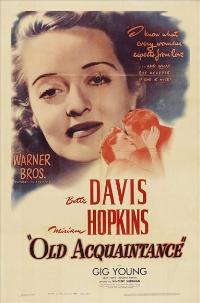 Old Acquaintance - 27 x 40 Movie Poster - Style A