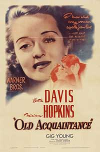 Old Acquaintance - 11 x 17 Movie Poster - Style A