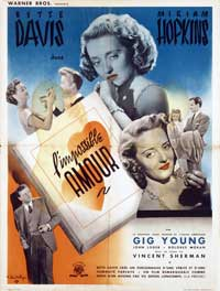 Old Acquaintance - 11 x 17 Movie Poster - French Style A