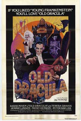 Old Dracula - 11 x 17 Movie Poster - Style A