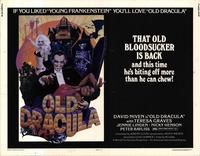 Old Dracula - 22 x 28 Movie Poster - Half Sheet Style A