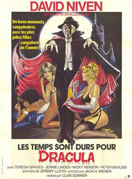 Old Dracula - 11 x 17 Movie Poster - French Style A