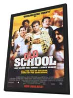 Old School - 11 x 17 Movie Poster - Style B - in Deluxe Wood Frame