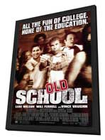Old School - 27 x 40 Movie Poster - Style A - in Deluxe Wood Frame