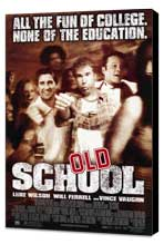 Old School - 27 x 40 Movie Poster - Style A - Museum Wrapped Canvas