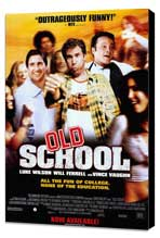 Old School - 27 x 40 Movie Poster - Style B - Museum Wrapped Canvas