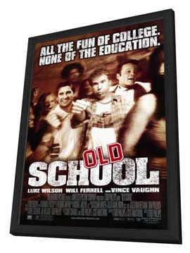Old School - 11 x 17 Movie Poster - Style A - in Deluxe Wood Frame