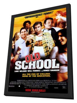 Old School - 27 x 40 Movie Poster - Style B - in Deluxe Wood Frame