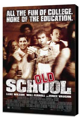 Old School - 11 x 17 Movie Poster - Style A - Museum Wrapped Canvas