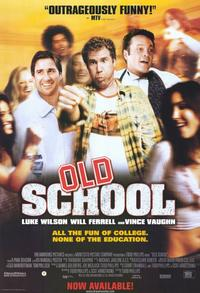 Old School - 11 x 17 Movie Poster - Style B - Museum Wrapped Canvas