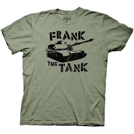 Old School - Frank The Tank Green T-Shirt