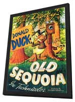 Old Sequoia - 27 x 40 Movie Poster - Style A - in Deluxe Wood Frame