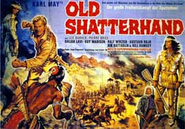Old Shatterhand - 11 x 17 Movie Poster - German Style A