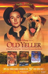 Old Yeller - 11 x 17 Movie Poster - Style C