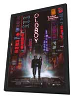 Oldboy - 11 x 17 Movie Poster - Style A - in Deluxe Wood Frame