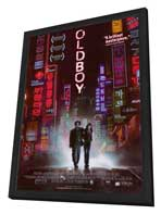 Oldboy - 27 x 40 Movie Poster - Style A - in Deluxe Wood Frame