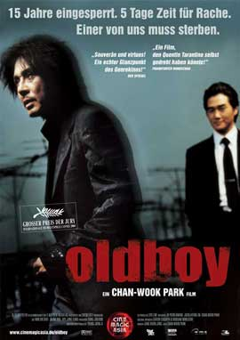 Oldboy - 11 x 17 Movie Poster - German Style A