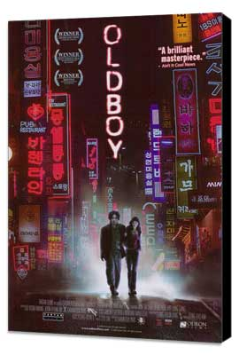 Oldboy - 27 x 40 Movie Poster - Style A - Museum Wrapped Canvas