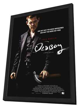Oldboy - 27 x 40 Movie Poster - Style B - in Deluxe Wood Frame
