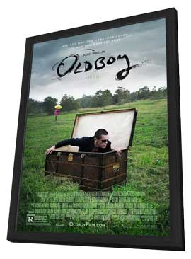 Oldboy - 11 x 17 Movie Poster - Style C - in Deluxe Wood Frame