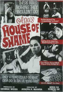 Olga's House of Shame - 11 x 17 Movie Poster - Style B