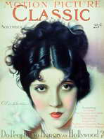 Olive Borden - 11 x 17 Motion Picture Classic Magazine Cover 1920's Style B