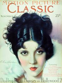 Olive Borden - 27 x 40 Movie Poster - Motion Picture Classic Magazine Cover 1920's Style B