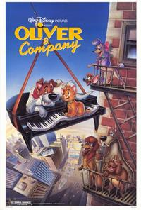 Oliver & Company - 27 x 40 Movie Poster - Style B