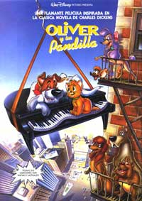 Oliver & Company - 27 x 40 Movie Poster - Spanish Style A