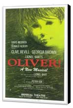 Oliver! (Broadway) - 11 x 17 Poster - Style A - Museum Wrapped Canvas