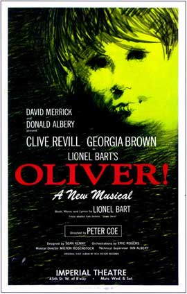 Oliver! (Broadway) - 14 x 22 Poster - Style A