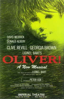 Oliver! (Broadway) - 11 x 17 Poster - Style A