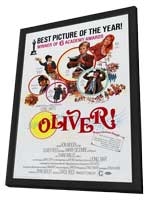 Oliver! - 11 x 17 Movie Poster - Style D - in Deluxe Wood Frame