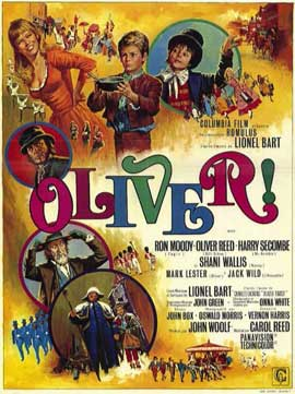 Oliver! - 11 x 17 Movie Poster - Belgian Style A