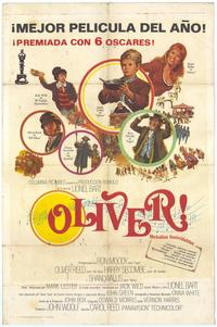 Oliver! - 11 x 17 Movie Poster - Spanish Style A
