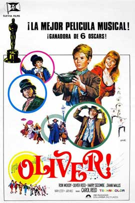 Oliver! - 27 x 40 Movie Poster - Spanish Style A