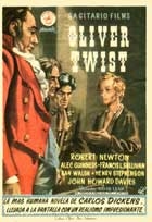 Oliver Twist - 11 x 17 Movie Poster - Spanish Style A