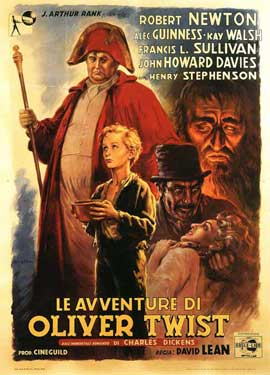 Oliver Twist - 11 x 17 Movie Poster - Italian Style A