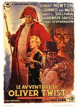 Oliver Twist - 27 x 40 Movie Poster - Italian Style A
