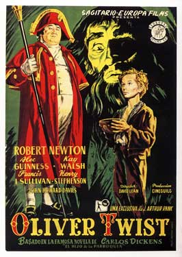 Oliver Twist - 11 x 17 Movie Poster - Spanish Style B