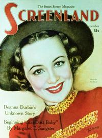 Olivia de Havilland - 11 x 17 Screenland Magazine Cover 1930's Style A