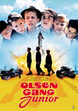 Olsen Gang Junior - 11 x 17 Movie Poster - UK Style A
