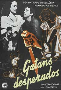 Olvidados, Los - 11 x 17 Movie Poster - Swedish Style A