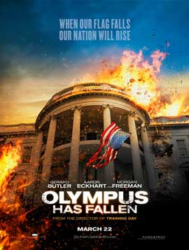 Olympus Has Fallen - DS 1 Sheet Movie Poster - Style B