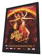 Om Shanti Om - 27 x 40 Movie Poster - Polish Style A - in Deluxe Wood Frame