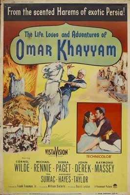 Omar Khayyam - 11 x 17 Movie Poster - Style A