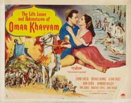 Omar Khayyam - 22 x 28 Movie Poster - Half Sheet Style A