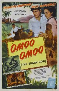 Omoo-Omoo the Shark God - 11 x 17 Movie Poster - Style A