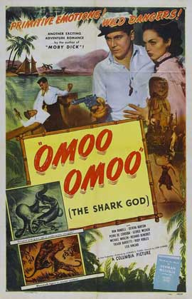 Omoo-Omoo the Shark God - 27 x 40 Movie Poster - Style A